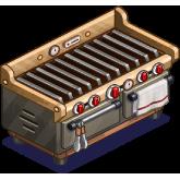 烤架(Grill),ChefVille(廚師小鎮)