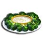 花椰菜配沾醬,ChefVille(廚師小鎮)