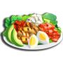 雞肉卡布沙拉,ChefVille(廚師小鎮)
