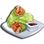雞肉生菜捲,ChefVille(廚師小鎮)