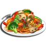 素炒麵,ChefVille(廚師小鎮)