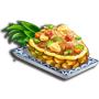 鳳梨炒飯,ChefVille(廚師小鎮)