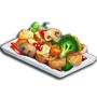 糖醋素菜,ChefVille(廚師小鎮)