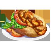 ChefVille, 鮮蝦三明治