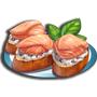 鮭魚普切塔,ChefVille(廚師小鎮)