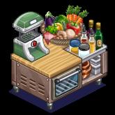蔬菜機(Veggiematic),ChefVille(廚師小鎮)