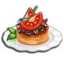 番茄蘑菇塔,ChefVille(廚師小鎮)