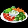 ChefVille, 蔬菜沾醬