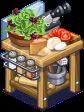 ChefVille, 進化蕃茄沙拉檯