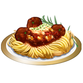 ChefVille, 肉丸義大利麵