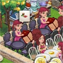 ChefVille, 牛肉火鍋主廚服務