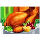 ChefVille, 感恩節火雞
