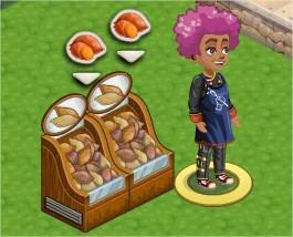 地瓜架, ChefVille