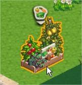 ChefVille(廚師小鎮)庭園土地