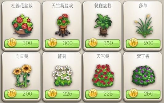 ChefVille(廚師小鎮)什錦蔬菜供應品