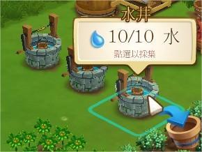 FarmVille 2, 水井