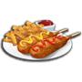 美式炸熱狗,ChefVille(廚師小鎮)