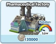 SimCity Social, Pharmaceutical Factory