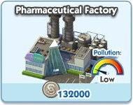 SimCity Social, Pharmaceutical Factory