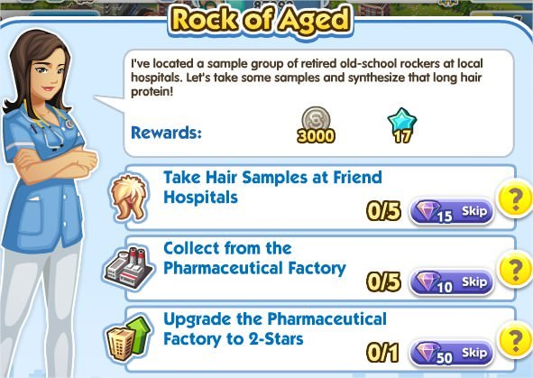 SimCity Social, Rock of Aged
