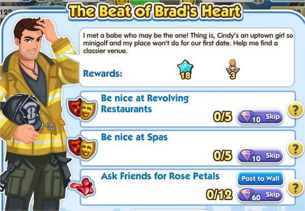 SimCity Social, The Beat of Brad