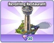 SimCity Social, Revolving Restaurant