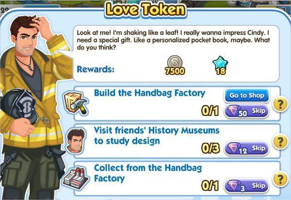 SimCity Social, Love Token