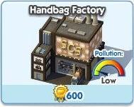 SimCity Social, Handbag Factory