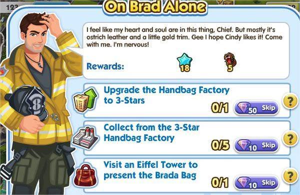 SimCity Social, On Brad Alone