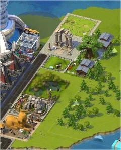 SimCity Social, Cover Ground