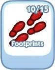 The Sims Social, Footprints
