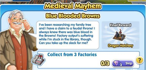 SimCity Social, Blue Blooded Browns