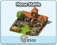 SimCity Social, Horse Stable
