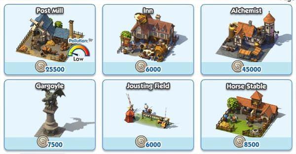 SimCity Social, Medieval