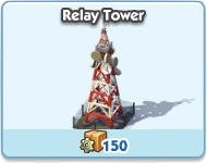 SimCity Social, Relay Tower