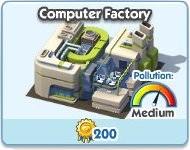 SimCity Social, Computer Factory