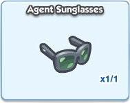 SimCity Social, Agent Sunglasses