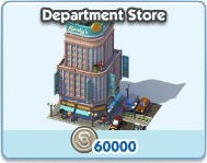 SimCity Social, Department Store