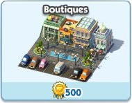 SimCity Social, Boutique
