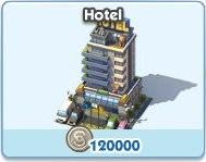 SimCity Social, Hotel