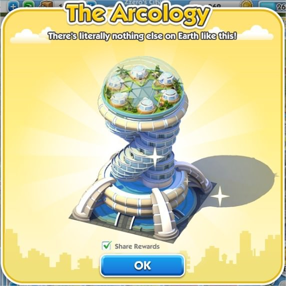 SimCity Social, The Arcology
