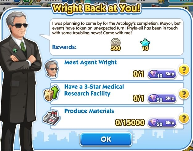 SimCity Social, Wright Back at You!
