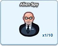 SimCity Social, Alien Spy