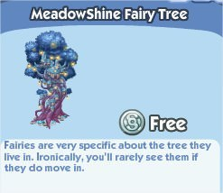 The Sims Social, MeadowShine Fairy Tree