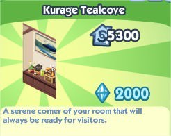 The Sims Social, Kurage Tealcove
