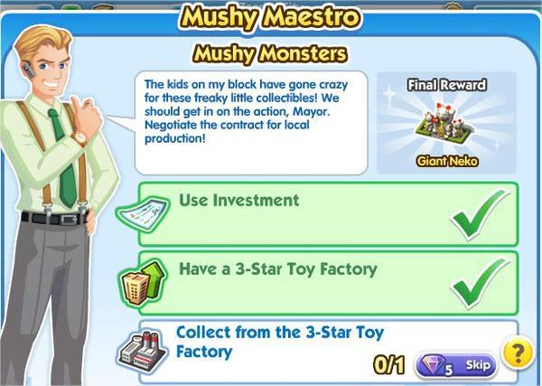 SimCity Social, Mushy  Monsters