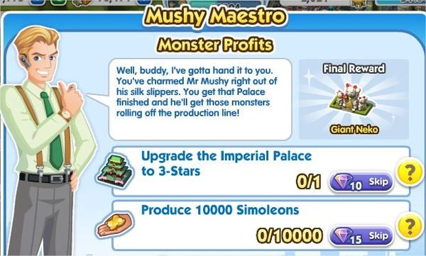 SimCity Social, Monster Profits