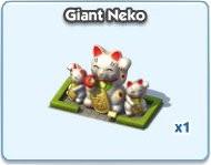 SimCity Social, Giant Neko