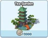 SimCity Social, Tea Garden