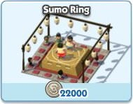 SimCity Social, Sumo Ring